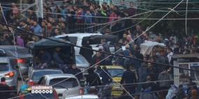 فيديو.. أجهزة أمن غزة تعتقل عشرات المشاركين في الحراك