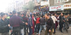 الديمقراطية تستنكر قمع أجهزة أمن غزة للتظاهرات السلمية