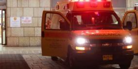 اصابة حرجة لطفلة اثر حادث في النقب