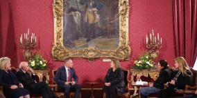 السفير حنانيا يقدم أوراق اعتماده لرئيسة مالطا