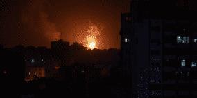 جيش الاحتلال يقصف 100 هدف في غزة والجهاد تعلن النفير العام