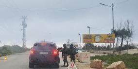 حاجز عسكري للاحتلال على مدخل بيت فجار