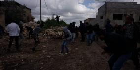إصابة شاب خلال قمع الاحتلال مسيرة كفر قدوم