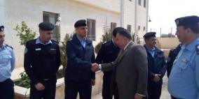 سفير الهند يزور مديرية الشرطة في أريحا