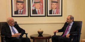 الصفدي وعريقات يبحثان في عمان تطورات باب الرحمة