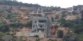 سلطات الاحتلال تهدم بناية من خمسة طوابق في وادي عارة