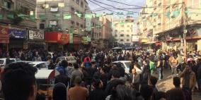 الحراك الشعبي في غزة يعلن الاضراب الشامل