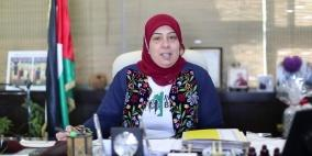 """الدكتورة غنام تؤكد دعمها لمبادرة """"من فلسطين إلى العالم"""" التي تطلقها شبكة راية الإعلامية"""