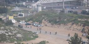 إصابة شاب برصاص الاحتلال واعتقال آخر في بيت سيرا غرب رام الله