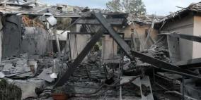 إصابات جراء سقوط صاروخ على منزل قرب تل أبيب