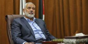 طائرات الاحتلال تدمر مكتب اسماعيل هنية غرب غزة