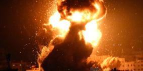 فجرا..تجدد القصف الإسرائيلي على قطاع غزة