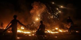 """اصابتان خلال فعاليات """"الارباك الليلي"""" شرق غزة"""