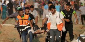 اصابة شاب برصاص الاحتلال شرق البريج
