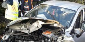 مصرع امرأتين من عائلة واحدة بحادث طرق في عرابة