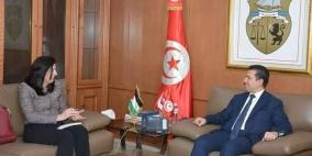 اتفاق فلسطيني تونسي لتسهيل دخول المنتجات الفلسطينية