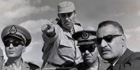 شاهد.. صور نادرة لجمال عبد الناصر على جبهة القتال!
