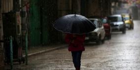 آخر التحديثات.. عاصفة مطرية تجتاح فلسطين والأردن