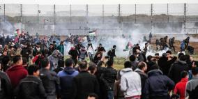 محدث: 3 شهداء برصاص الاحتلال في مليونية الارض والعودة