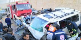 وفاة شاب وإصابة 3 بجروح خطيرة في حادث سير شمال القدس