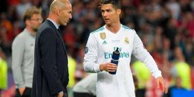 رونالدو يشيد بزيدان.. ويكشف سر نجاحه مع ريال مدريد
