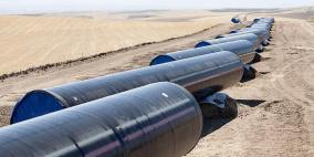 اغلاق طريق احتجاجاً على خط الغاز الإسرائيلي في الأغوار الشمالية بالاردن