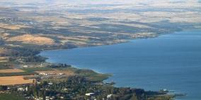 بحيرة طبرية في أعلى مستوى منذ سنوات