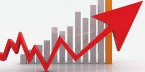 """ارتفاع قيمة """"مؤشر سلطة النقد"""" في الضفة وغزة خلال آذار"""