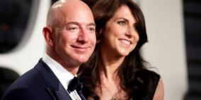 بيزوس يدفع 35 مليار دولار للانفصال عن زوجته