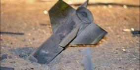 العثور على بقايا صاروخ في غلاف غزة