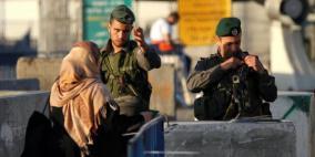 فرض اغلاق شامل على الضفة وغزة يوم الثلاثاء