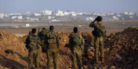 الاحتلال يزعم احباط عملية اختطاف جندي على حدود غزة