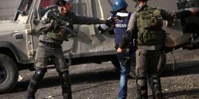 معظمها فلسطينية.. 111 اعتداء ضد الحريات الإعلامية خلال الشهر الماضي