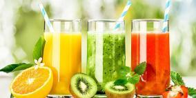 """متى يصبح عصير الفاكهة """"الطبيعي"""" ضارا بالصحة؟"""