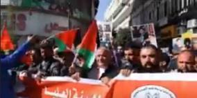 فيديو: مسيرة دعم وإسناد للأسرى في رام الله