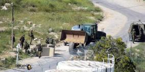 الاحتلال يقتحم بلدة تقوع ويُغلق مداخلها