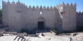 """الاحتلال يغلق """"باب العامود"""" ويعتقل 8 أطفال من سلوان وجبل المكبر"""