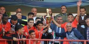 اتحاد خانيونس يتغلب على شباب الخليل ويتوج بكأس فلسطين للشباب