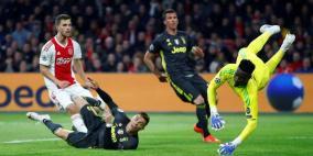رونالدو يسجل الهدف 125 في أبطال أوروبا
