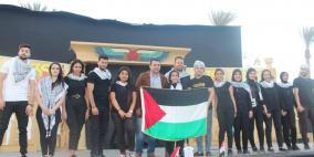 فلسطين تحصد المركز الأول في المهرجان الثقافي بالقرية الفرعونية