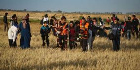 استشهاد طفل واصابة 66 مواطنا شرق قطاع غزة
