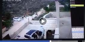 شاهد: لحظة هجوم المستوطنين الارهابي على عوريف
