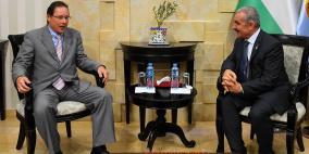 اشتية يدعو روسيا للضغط على اسرائيل للافراج عنأموال المقاصة