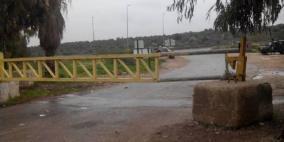 الاحتلال يغلق مدخل بلدة عزون شرق قلقيلية لليوم الـ18