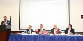 مجلس الأعمال الفلسطيني التركي المشترك يبحث سبل تعزيز العلاقات الاقتصادية المشتركة