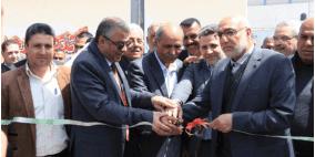 افتتاح حديقة البيارة الحادية والثلاثون في مدينة بيت حانون