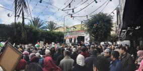 نابلس تحيي يوم الأسير بمسيرة ومهرجان مركزي