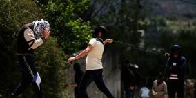 6 إصابات واعتقال متضامن فرنسي في كفر قدوم