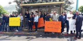 دير حنّا: تظاهرة أمام مركز الشرطة بعد تزايد العنف
