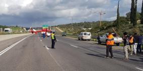 مصرع سائق دراجة نارية بحادث سير على شارع 431